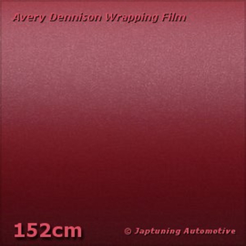 Avery Supreme Wrapping Film Mat Metallic Garnet Red