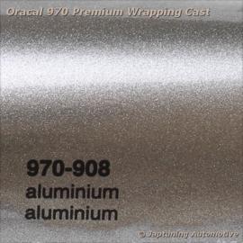 Wrap Folie Oracal Premium 970-908 - Aluminium