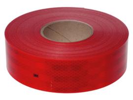 3M 983-72 Red 50mtr. x 55mm (voor harde ondergronden)
