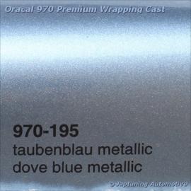 Wrap Folie Oracal Premium 970-195 - Duif Blauw Metallic