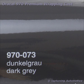 Wrap Folie Oracal Premium 970-073 - Donker Grijs