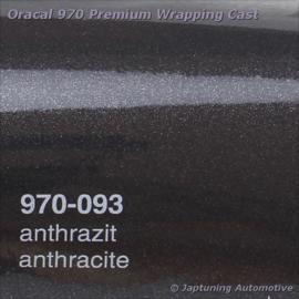 Wrap Folie Oracal Premium 970-093 - Antraciet Metallic
