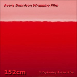 Avery Supreme Wrapping Film Gloss Cardinaal Red