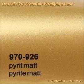 Wrap Folie Oracal Premium 970-091 - Mat Pyriet