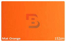 Wrapfolie Mat Oranje