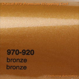 Wrap Folie Oracal Premium 970-920 - Brons Metallic