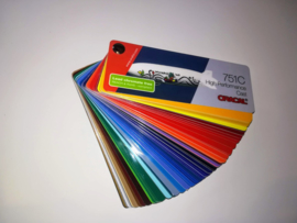 Kleurenwaaier Oracal 751 Serie