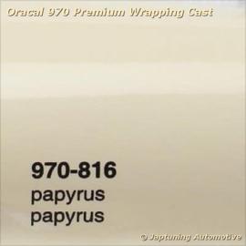 Wrap Folie Oracal Premium 970-816 - Papyrus