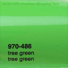Wrap Folie Oracal Premium 970-486 - Boom Groen