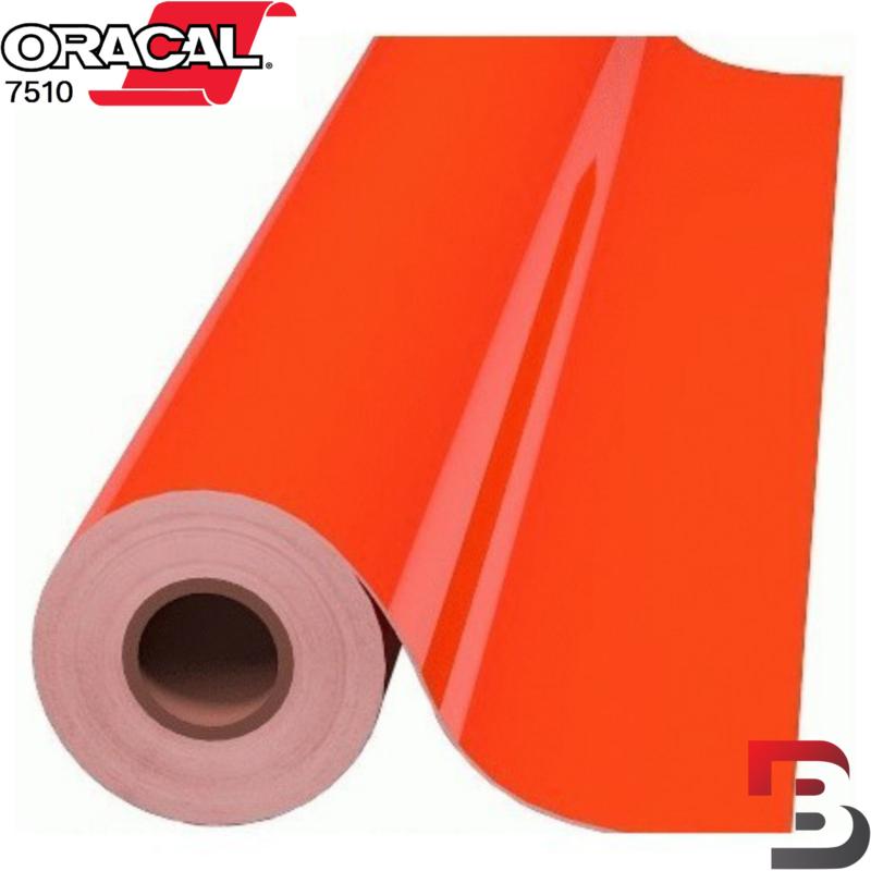 Oracal 7510 Fluorescend Premium Cast 038 Red / Orange
