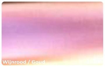 Wrap Folie Kameleon Rood / Goud