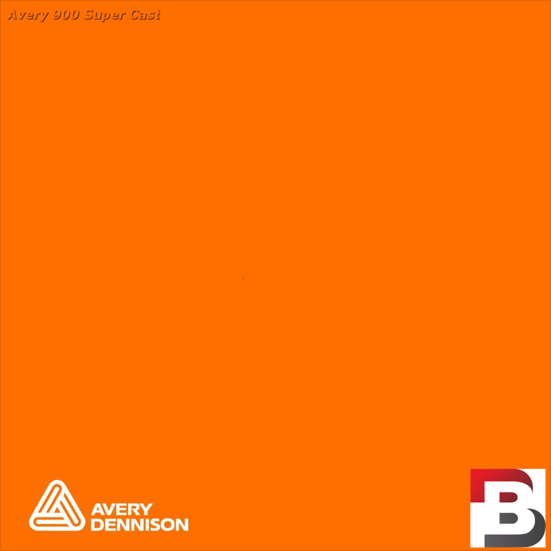 Snijfolie Plotterfolie Avery Dennison SC 910-01 Dark Orange