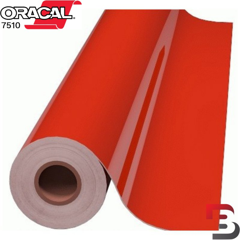 Oracal 7510 Fluorescend Premium Cast 039 Red