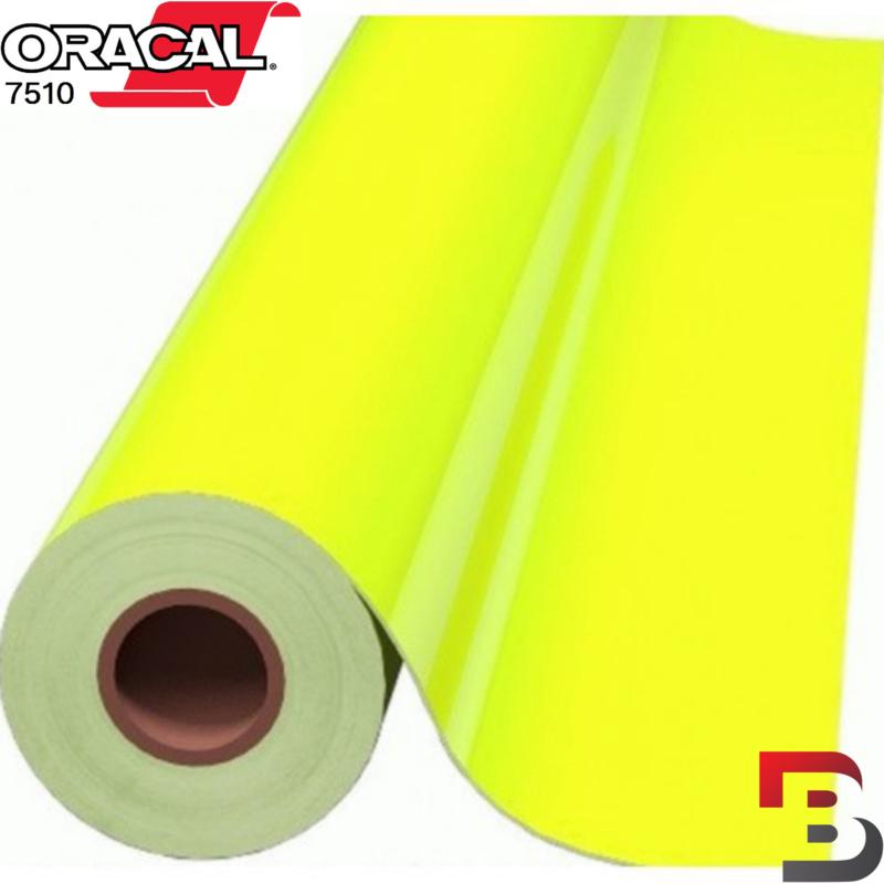 Oracal 7510 Fluorescend Premium Cast 029 Yellow
