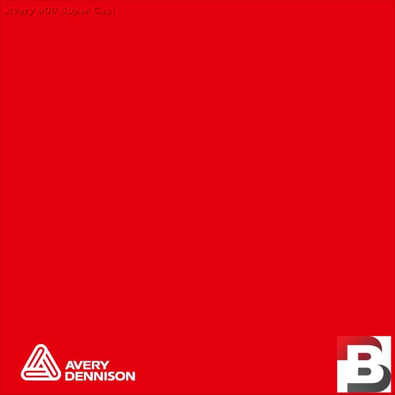 Snijfolie Plotterfolie Avery Dennison SC 987-01 Spicy Red