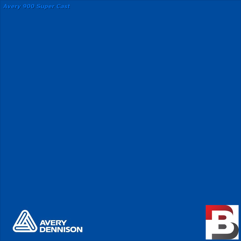 Snijfolie Plotterfolie Avery Dennison SC 934 Vivid Blue