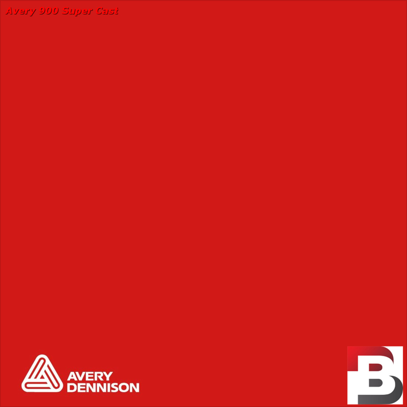 Snijfolie Plotterfolie Avery Dennison SC 955-01 Cardinal Red