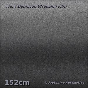 Avery Supreme Wrapping Film Mat Satin Metallic Charcoal