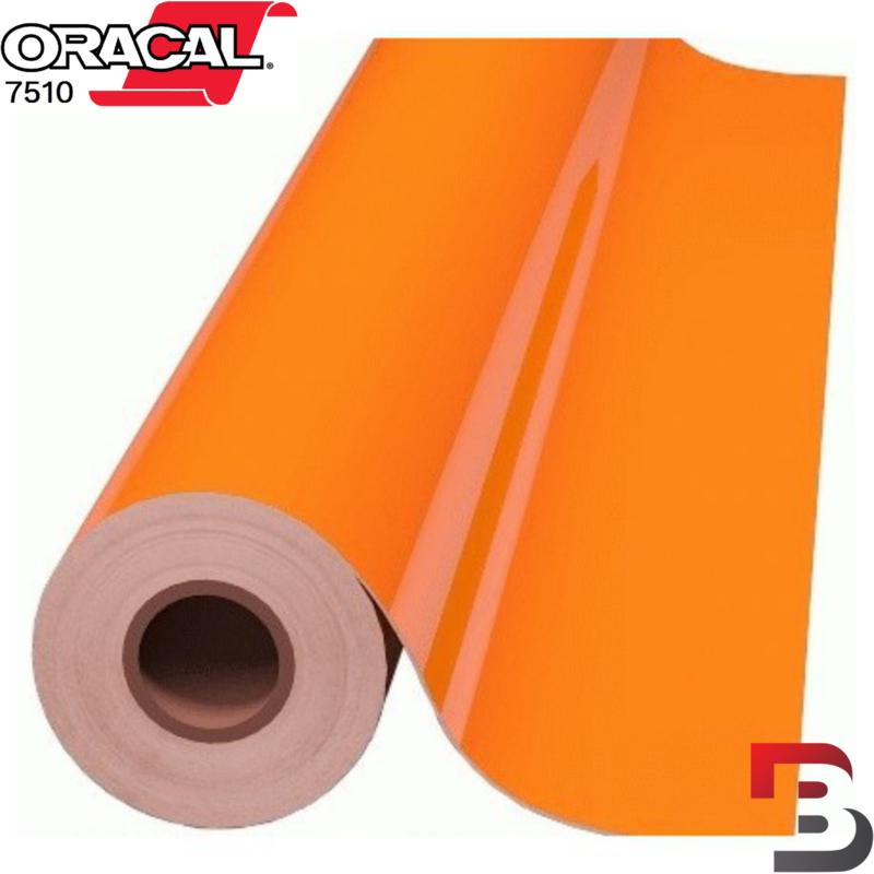 Oracal 7510 Fluorescend Premium Cast 037 Orange