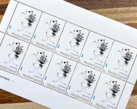 Feestelijke postzegels