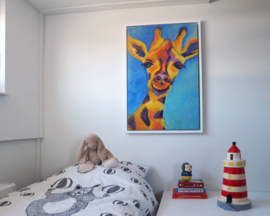 Giraffe 66x96 cm