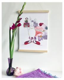 A3 poster 'Pantoffelheld'