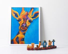A3 poster 'Giraffe'
