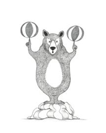 A4 poster 'Circusbeer'