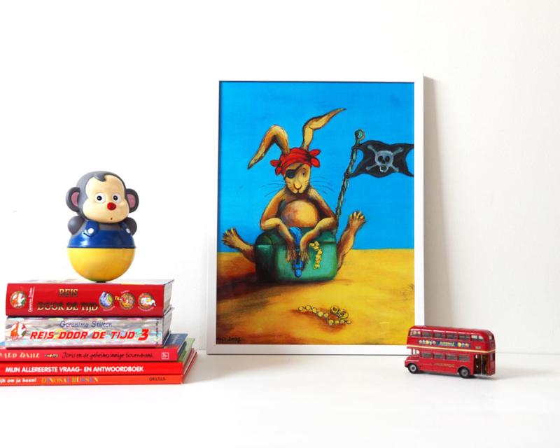 A3 poster 'Piet Piraat'