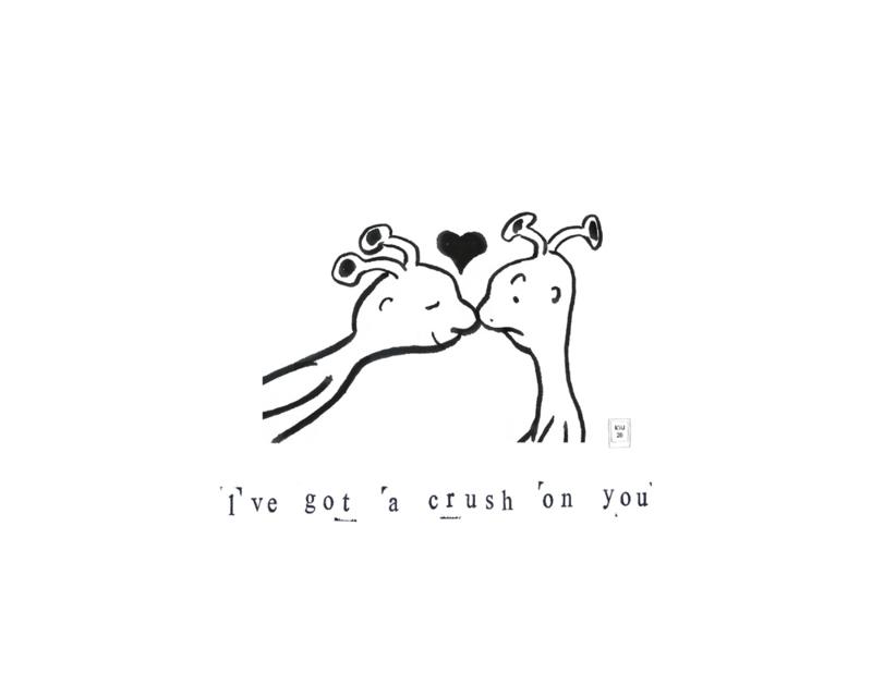 Lichtpuntje 'I've got a crush on you'