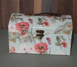 Romantische opbergkoffer of doos