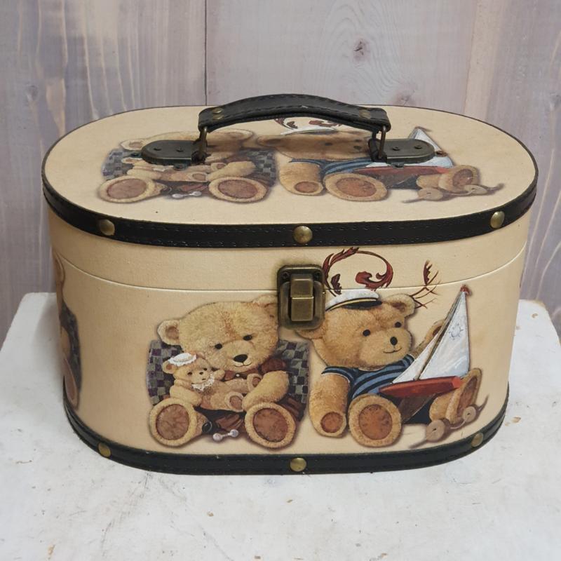 Opbergdoos of koffer met berenprint