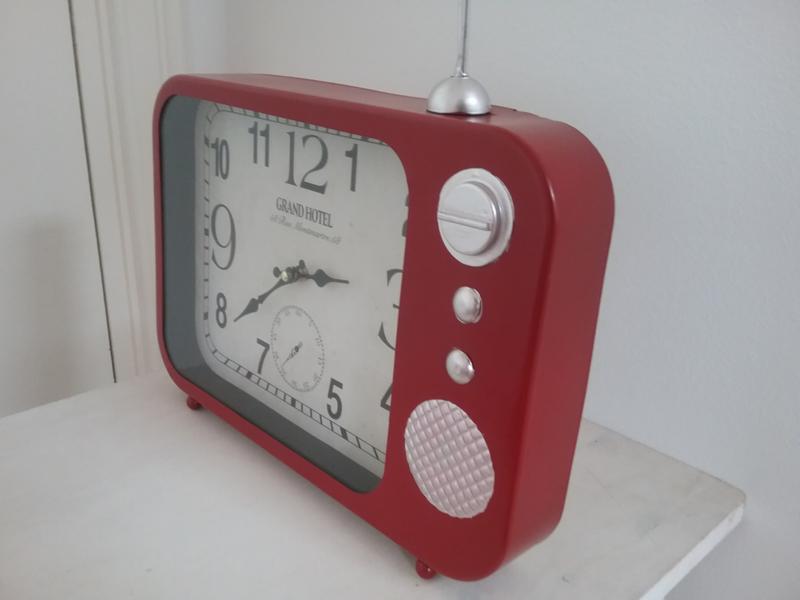 Klok in model radio
