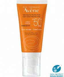 Avène SPF 50 - crème, getint