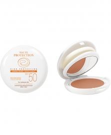 Avène Getinte zonbescherming voor allergische huid - SPF 50 - doré/gold