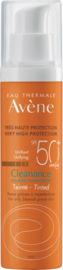 Avène SPF 50 Cleanance solaire (bij acne) getint