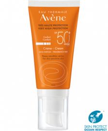 Avène SPF 50 - crème, zonder parfum