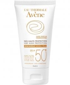 Avène SPF 50+ minerale crème voor (zon)allergische huid