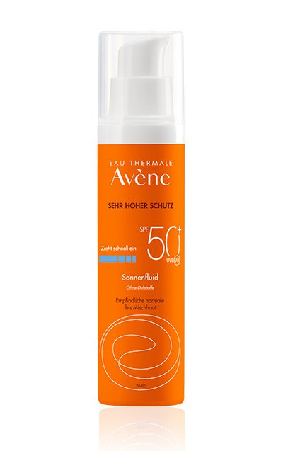 Proefverpakking SPF 50 Fluide - parfumvrij