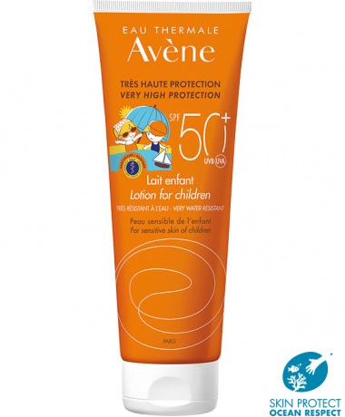 Avène SPF 50  - zonnemelk voor kinderen