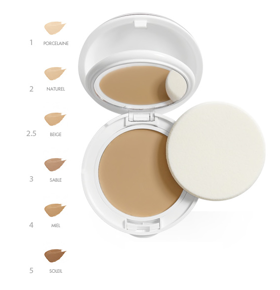 Avène Compact Foundation SPF 30 comfort droge huid (4 kleuren)