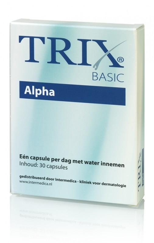 Trix Basic Alpha - bij dunner wordend haar-30 caps