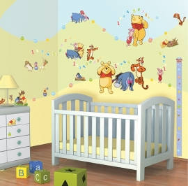 Walltastic Disney Winnie the Pooh Room Decor Kit