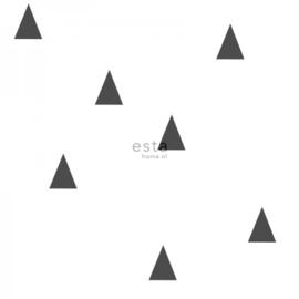 Esta Home Little Bandits Grafische Driehoeken behang 138942