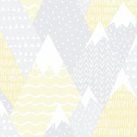 Mountains 91050 Grijs geel