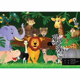 Dutch Wallcoverings Fotobehang Jungle Safari FTS1307