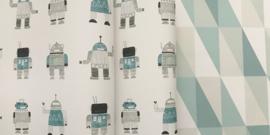 Esta Home Little Bandits Vintage Robots behang 138938