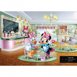 Dutch Wallcoverings Fotobehang Disney Minnie & Daisy FTDS1926