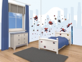 Walltastic Spiderman Room Decor Kit