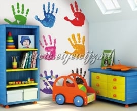 14. Noordwand Little Ones Fotobehang Hand Prints 415014